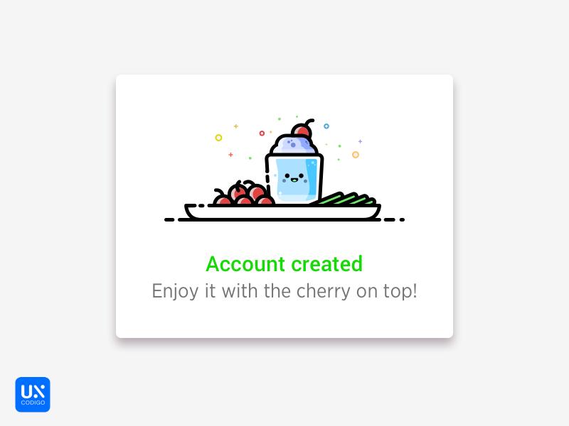 Daily UI #011 - Flash message icon ui illustration success confirm