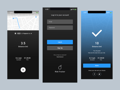 Bicycle App: Ride Tracker