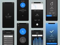 sixthreezero Ride Tracker | UX UI Design