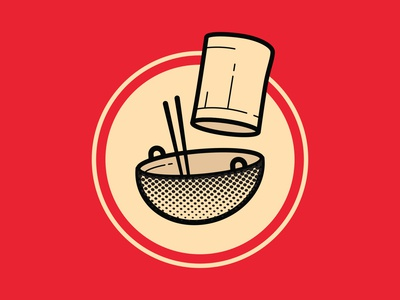 Chinese Catering Service Logo | Illustration