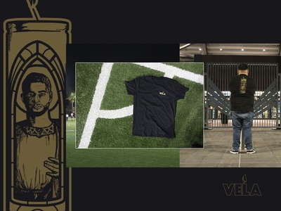 LAFC Carlos Vela Candle Vigil T-Shirt Design and Look Book