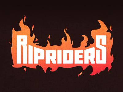 RIP Riders Skateboard Brand Logo