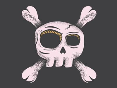 Skull bones skull illustrator