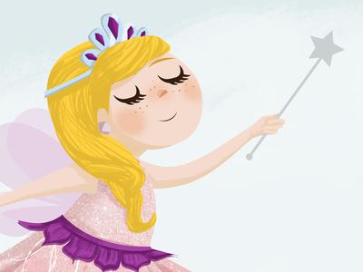 Fairy illustrator photoshop magic wand illustration fairy
