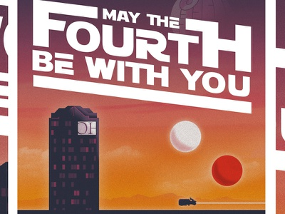 May 4th agency may the 4th may the fourth photoshop starwars illustrator