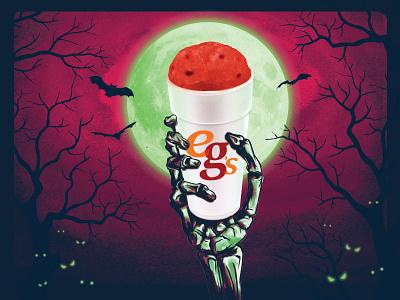 Scary Berry bats photoshop illustrator scary berry halloween