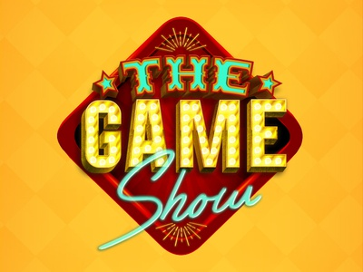 The Game Show gaming casino games illustrator photoshop game show