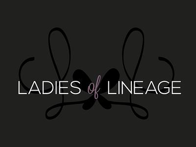 Ladies of Lineage Logo bridal ladies lineage north carolina logo fashion
