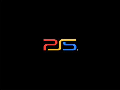 PS5 ps5 sony playstation ps4 type mark logo branding