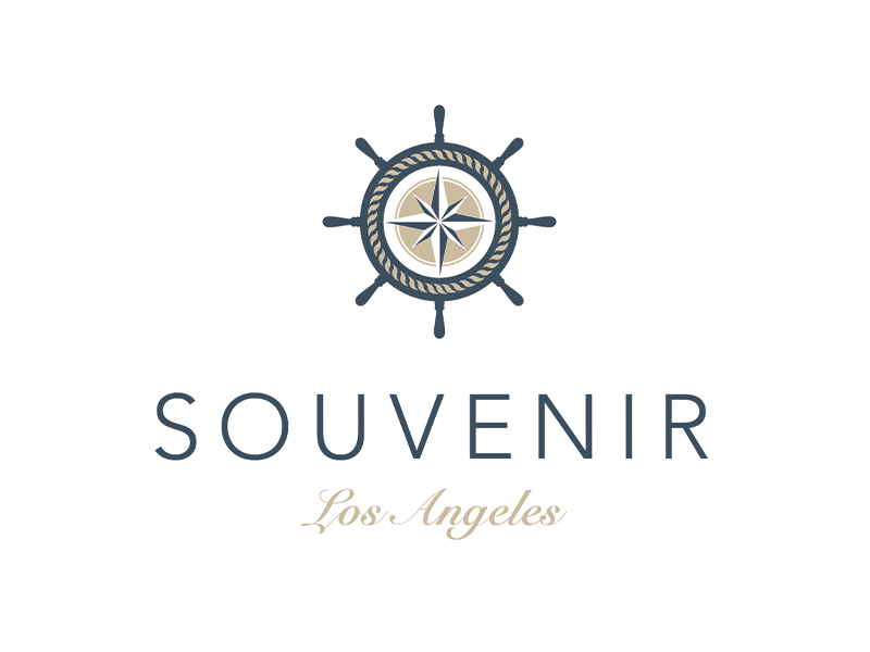 SOUVENIR Los Angeles logo souvenir shop los angeles cd ci corporate