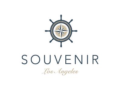 SOUVENIR Los Angeles logo souvenir shop los angeles cd ci corporate