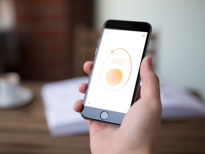 Happy Easter! egg timer perfect ios app design interface clock application iphone ipad easter