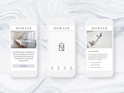 Romair Mobile Screens