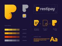 Restipay logo design