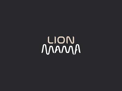 Lion Mama logo design wild animal vector branding illustration gedas meskunas design icon glogo logo explanation urban nostrils butcher teeth jaws mama lion
