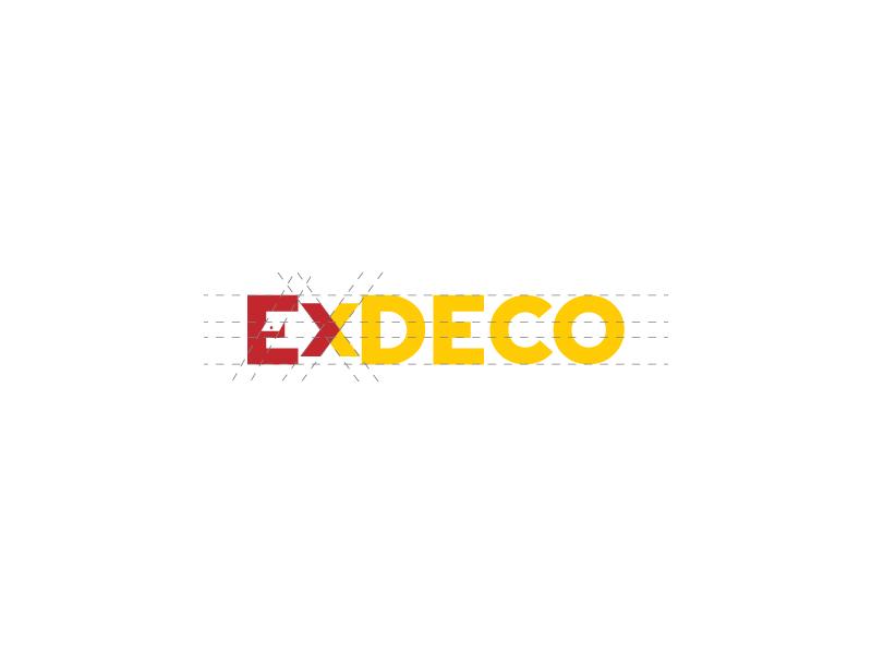 Exdeco glogo gedas by gedas meskunas dribbble dribbble - Icon exterior building solutions ...