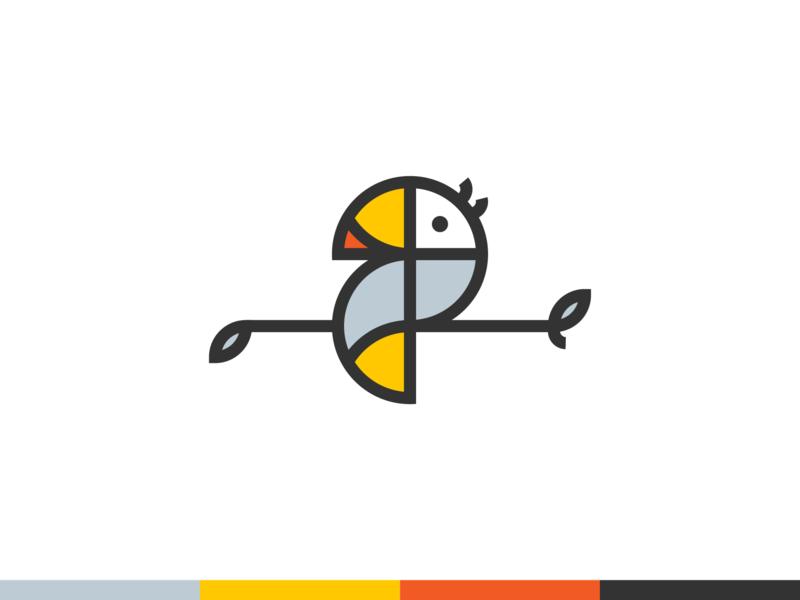 Toucan logo / Gedas Meskunas unused for sale forsale golden ratio designer brand identity branding parrot bird gedas design illustration icon glogo minimalistic logo workflow outline logo creation logo tucan