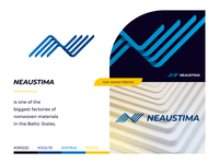 Neaustima logo / branding