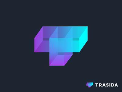T + Cargo Containers Trasida logo design
