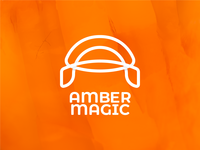 Amber Magic Logo Design