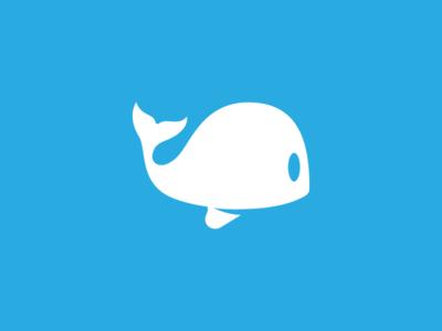 MobyTime logo design cartoon water animal vector logo creation branding gedas meskunas illustration design glogo logo icon ocean blue time baby white moby dick moby whale