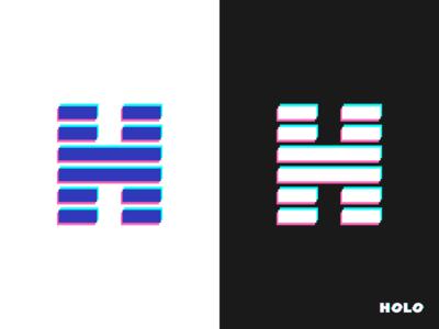 HOLO    Logo design