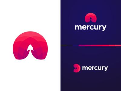 Mercury logo design