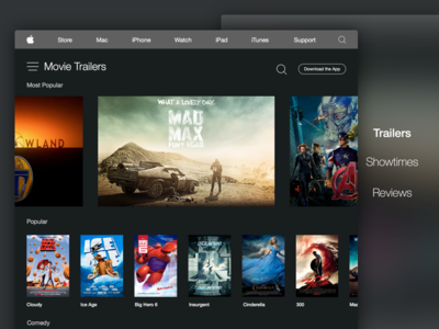 iTunes Trailers