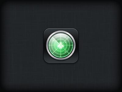 Radar iOS Icon