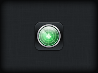 Radar iOS Icon