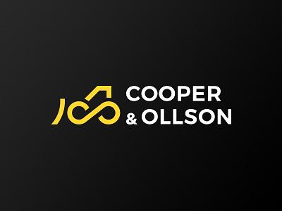 Cooper & Ollson branding monogramm tractor infinity line minimal debut machinery logo