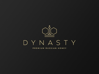 Dynasty honeycomb line russia bee queen king crown dynasty honey
