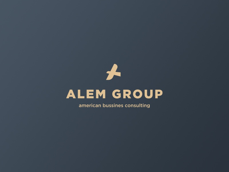 Alem Group real estate consulting american bussines falcon hawk monogramm a eagle