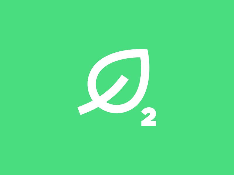 Oxygen life green o2 2 leaf oxygen