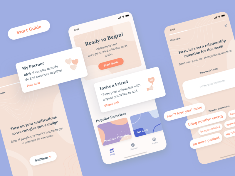 Onboarding for App
