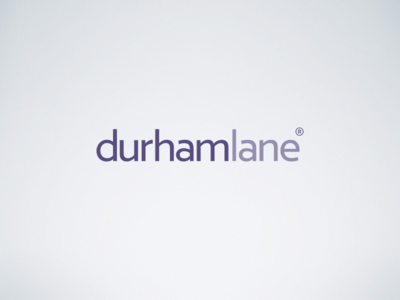 durhamlane Logotype sales business luxury trademark light purple logotype typography logo
