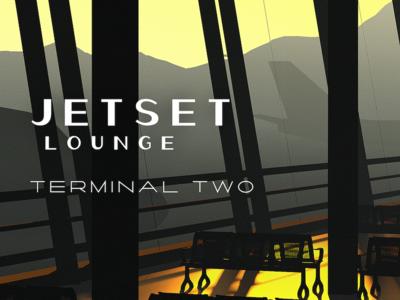 Jetset Lounge render cinema 4d c4d 3d vintage poster