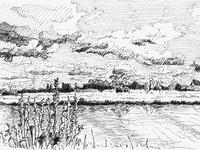 Ditton Meadows, River Cam, Cambridge