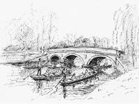 Trinity College Bridge, Cambridge