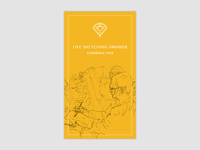 Life Sketching Awards - splash screen for Adobe XD Contest