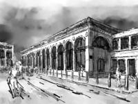 Train Station in Cambridge