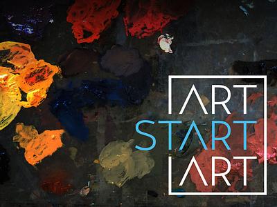 Art Start Art Tone Exploration mood paint identity art logo
