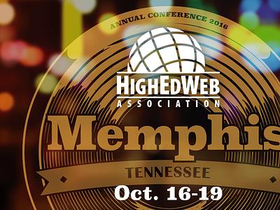 #heweb16 Artwork conference southern heweb16 sun studios memphis print highedweb