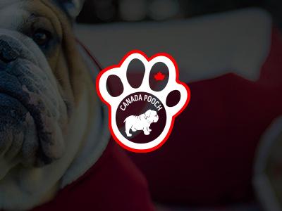 Official Canada Pooch Logo canada goose pitbull artwork design pooch logo art toronto pet jacket pooch logo dogs