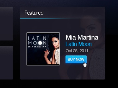CP Records official website  mia martina cp records buy now latin moon interface featured