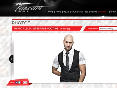 Massari Photo Gallery massari singer artist cp records official website new 2012r
