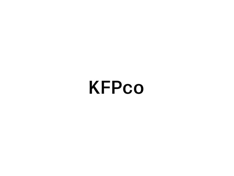 KFPco Main Logo modern logo commercial photography san serif watermark icon typography design photographer logo branding