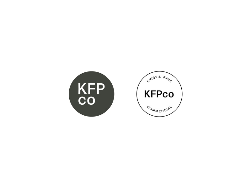 KFPco Brand Marks modern logo modern design commercial photography san serif watermark icon typography design photographer logo branding