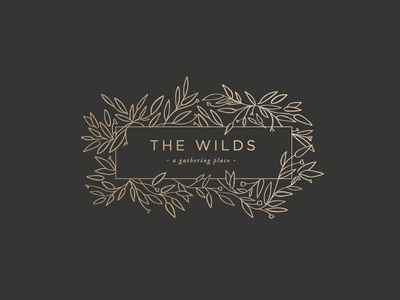 The Wilds Wedding and Event Venue Secondary Logo