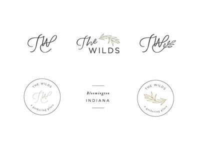 The Wilds Wedding and Event Venue Icons